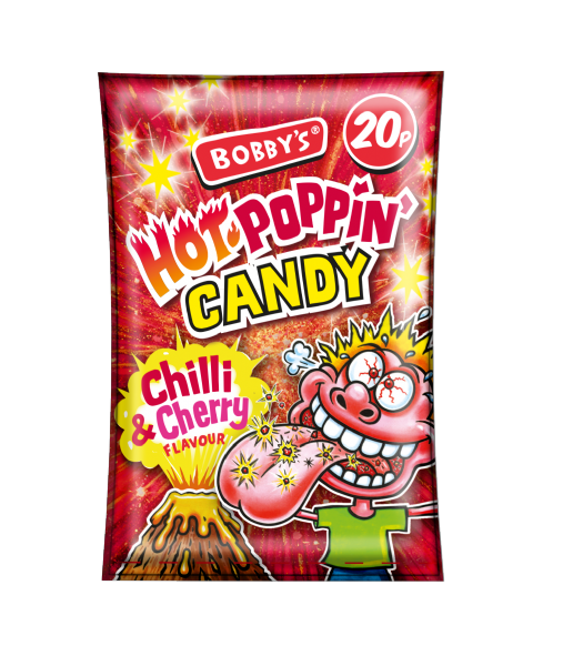 Bobby's Hot Poppin Candy